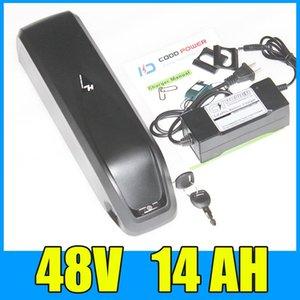 электрический велосипед батареи 48v 14ah литий Hailong вниз трубки аккумулятор 48V 1000 Вт Бесплатная доставка зарядное устройство и долг