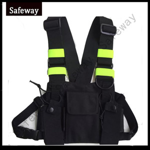 NEW Nylon Two way radio pouch Chest Pack walkie talkie bag Holder Carrying Case for kenwood and UV-5R