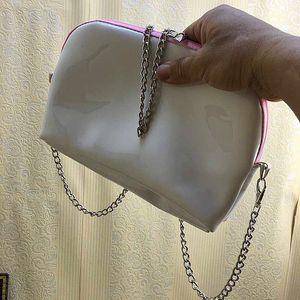 Bolso de la bolsa de la cadena de la cadena de pintura del patrón clásico con bolso de hombro de las mujeres con el famoso bolso de maquillaje cosmético