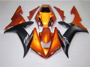 kit de carenado naranja quemado por Yamaha YZFR1 02 03 2002 2003 YZF R1 YZFR1 YZF1000 YZF1000 02 03 carenados completos