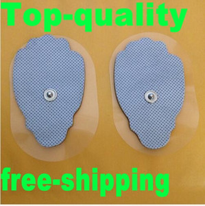 100pcs hand shaped non-woven Self Adhesive replacement Electrode pads for muscle stimulator Tens massage machine pad