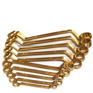 1031 5.5 * 16.7 * 17mm Al-Br Spark-frei Doppelendball Steckschlüssel, Ringschlüssel Doulbe Kopf, Unmagnetisch Werkzeuge
