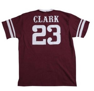 23 Will Clark Mississippi State Jersey Red All Stitched Custom Baseball Jerseys Any Name & Number Free Shipping