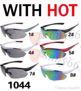 Sommer-FRÜHLINGSmänner, die Wind-Sonnenbrillefrauen reiten, radfahren Sonnenbrillenart und weise radfahren sun glasse 9colors freies Verschiffen