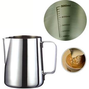 Caffè Espresso in acciaio inossidabile di stile giapponese addensato tazza di latte tazze caneca thermo Frying Pitcher Steaming Frothing Pitcher