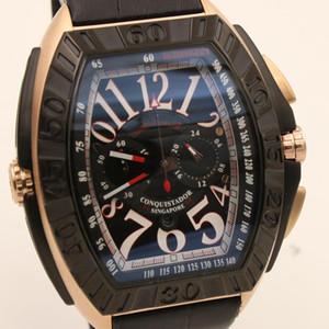 2020 reloj de los hombres de cuarzo F M OS Movimiento relojes de los hombres grandes del tamaño del botón incluyendo ancho de 54,5 pequeño dial Uso del botón de Trabajo