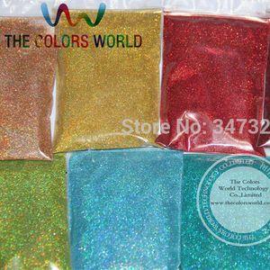 24 Lazer Holografik tırnak dekorasyon için Renkler 0.1mm ince Glitter ve diğerleri DIY Aksesuarları