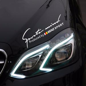 Для Benz Автомобильный Спорт Светоотражающие Наклейки Наклейка Стайлинг Mercedes Benz A200 A180 A260 B180 B200 A200 A250 CLA GLA200 GLA250 A45 AMG