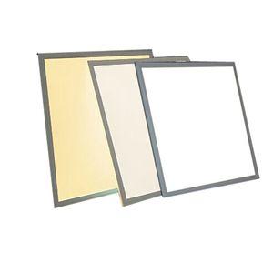 أدى ساحة مصباح 600X600mm الأبيض الإطار راحة لوحة الصمام ضوء السقف، 36W 48W 6000-6500K الباردة الأبيض بقيادة مصباح مع UL، FCC