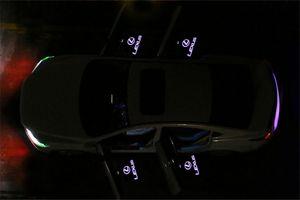 2 stücke led autotür willkommen laser projektor logo geisterschatten licht für lexus rx gs 300 400 430 350 450 h hs ist ls lx 570 es sc