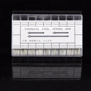 Al por mayor- Nueva 360pcs 8-25mm reloj de acero inoxidable Watchmaker Band Link Cotter Pins herramienta