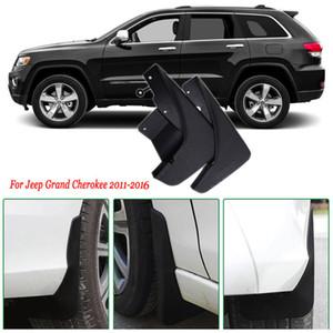 4x Frente / Traseira Do Carro Mud Flaps Respingo Guarda Mudguard Mudflaps Carro Fender Para Jeep Grand Cherokee 2011-2016