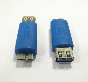 100pcs / 가방 USB 3 0 여성 OTG 어댑터 커넥터에 고속 마이크로 USB 3.0 남성 삼성 전자 갤럭시 Note3 S5 Tablet PC