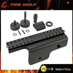 FIRE WOLF Nuevo sistema de riel de bloqueo de 4 puntos de Tactical Gen Side de la mira M14 Scope Mount Sight Support