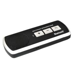 Universelle drahtlose Freisprecheinrichtung Bluetooth Car Kit Lautsprecher Kits Stereo für Handy mit Mehrpunktfunktion Großhandel 50pcs geben DHL frei