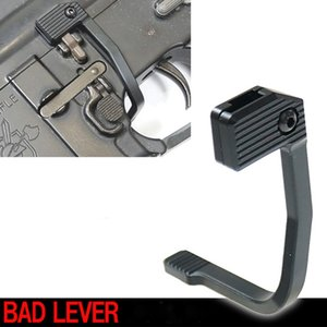 Tactical Bad Lever Estilo MAP Bolt Catch Release Lever Para M4 / AR15 / M16 Caça Preta
