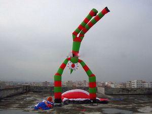 Big best selling up-down palhaço inflável homem tubo decorações / inflável engraçado dançarina de ar