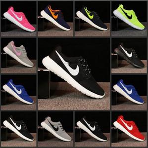 London Olympic Designated Running Shoes Women and Men negro, blanco, transpirable, zapatos casuales, ventas en línea baratas