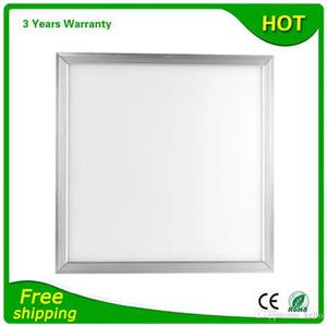 600x600 LED Painel de Luz 600x600mm 48 W 10 Pçs / lote Bridgelux Chip 100-110LM / W Garantia 3 Anos CE RoHS Frete Grátis