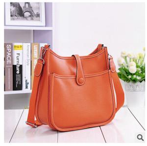Atacado-2015 nova alta qualidade mulheres de couro genuíno bolsa bolsa messenger bag marca projetada moda vintage mulheres bolsa de ombro