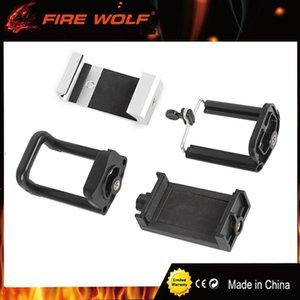 FIRE WOLF Adaptateur d'appareil photo pour télescope Smartphone Adaptateur 4 Supports de téléphone pour Spotting Scope Binocular Monocular Scope