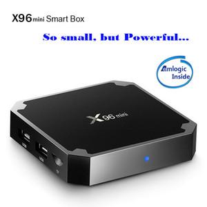 X96 Mini Android 9.0 TV BOX 2GB 16GB Amlogic S905W Dört Çekirdek Suppot H.265 4K Akıllı Media Player X96W TX3 Max H96 Mini m8s Pro W 30tps
