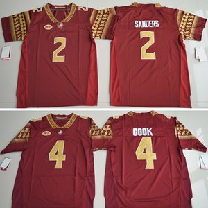 Christmas Florida State Seminoles 4 Dalvin Cook 2 Deion Sanders 5 ameis Winston 12 Deondre Francois Jersey Embroidery Authentic Stitched