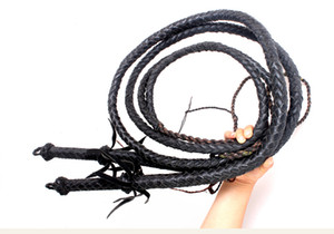 Genuine leather Wushu Whips Fitnesee Whips Kungfu Shaolin Whips pure leather whip kylin kamimuchi Taiji martial arts whip with gifts