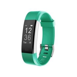 ID115HR PLUS Inteligente, pulsera, deportes, frecuencia cardíaca, banda inteligente, rastreador de ejercicios, pulsera, reloj inteligente, GPS ID115 PLUS