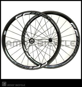 38 mm de profundidad 25 mm de ancho ruedas de carbono con FFWD F4R pintura llantas de aleación de carbono brillante bicicleta mate juego de ruedas clincher envío gratis