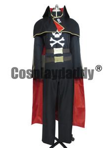 Kapitän Harlock Albator Version 3 Space Pirate Cosplay Kostüm