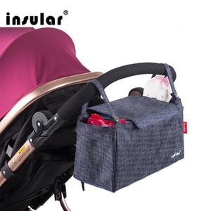 Sac à couches bébé multifonctionnel en gros Waterppf bébé poussette sac organisateur