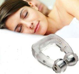 مكافحة الشخير وقف سدادة مكافحة الشخير الحرة كليب الأنف الصحة معدات مساعدة النوم السيليكون مكافحة الشخير وتوقف التنفس الشخير