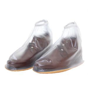 Многоразовые дождь обувь охватывает водонепроницаемый все сезоны скольжению регулируемая молния дождь загрузки женщин и мужчин обувь обложка
