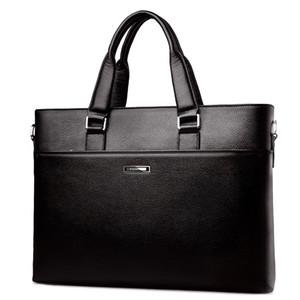De alta calidad de diseño de gama alta bolso de cuero bolso de los hombres en línea de negocios meonline hombres de negocios maletín mensajero 2017 nuevo