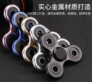 2017 Hot Sale Métal Spinners À La Main En Alliage Fidget Spinner EDC Doigt Décompression Jouet 5 Couleurs capable mélanger n'importe quelle couleur