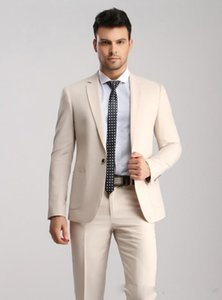 Calidad alta por encargo Trajes de boda Hermoso Volver Vent smokinges formales Blazer negocios viste trajes de padrino (chaqueta + pantalones)