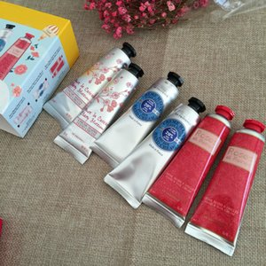 Whosale LOVELIER HAND CREAM Kit Shea Butter Pivoine Flora Hand Cream Roses et Reines