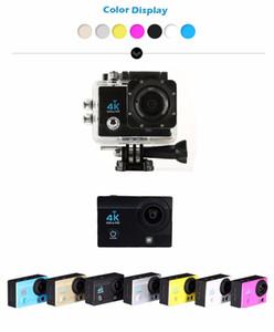 Q3H 4K Ultra HD 1080P Waterproof Sports Camera 16MP LCD Camcorder Wifi Remote