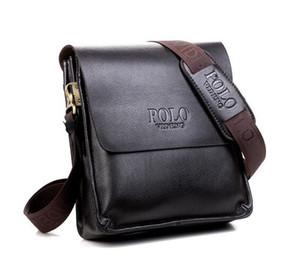 Haute qualité chine polo designer de mode ordinateur portable sac cross body épaule cahier d'affaires mallette ordinateur sac épaule Messenger