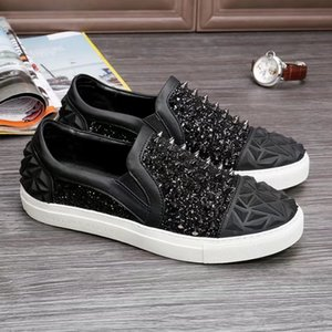 Hot Top New Brand Designer men casual shoes High Quality man Genuine leather shoes 38-46