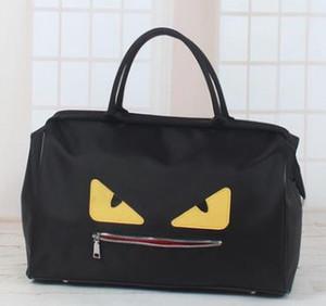 Monstro pequeno Plain Sports bag / saco de viagem / outdoor Poliéster sports bag / sacos de bagagem dobrável saco de viagem gym esporte saco de lona de mão