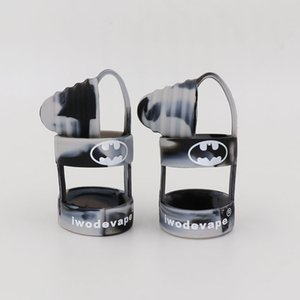 Nouveau Vape Silicone Anneaux Antipoussière Empêchez Glissant Goutte Un Anti Dérapage Incapable Bande Silicone Cap Batman Sanitaire Drip Tip Fit Réservoir Mods