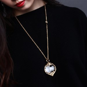 Japan Frauen Lupe Juweliers für Glas Vergrößerungslupe Mode Reading Design Halskette Halskette Gläser XDXCG