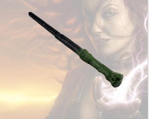 해리포터 마법 지팡이가 이끄는 마법의 지팡이 할로윈 마법의 지팡이가 빛나는 지팡이 크리스마스 선물 스틱 코스프레 지팡이에 불을 주도 코스프레 주도
