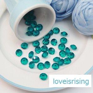 Saldi - 8.0mm (2 Carati) Diamante Confetti Faux Diamond Scatter Tavolozza per centrotavola Tappezzerie Decorazioni per matrimoni - Prezzo più basso