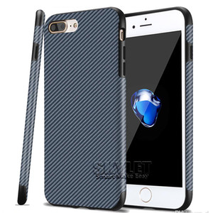 Pour le plus récent iPhone XS MAX XS 6.5 pouces couverture arrière cas de couverture en fibre de carbone doux pour iPhone 7/8 Plus iPhone X avec sac OPP