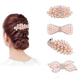 Femmes Filles Cristal Perle Pinces À Cheveux Fleur Paon Bowknot Papillon Cheveux Barrette Épingle À Cheveux Hairgrips Coiffure Bijoux De Cheveux Accessoires