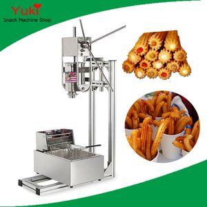 N13 commercial Churros machine 3L Churro Maker et 6L Friteuse électrique espagnole Churros machine à vendre en acier inoxydable