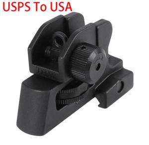 Staccabile AR doppio aperture A2 tacca di mira Adatto 20mm Tutti A cime delle Hunting Gun Rifle Sight Accessori